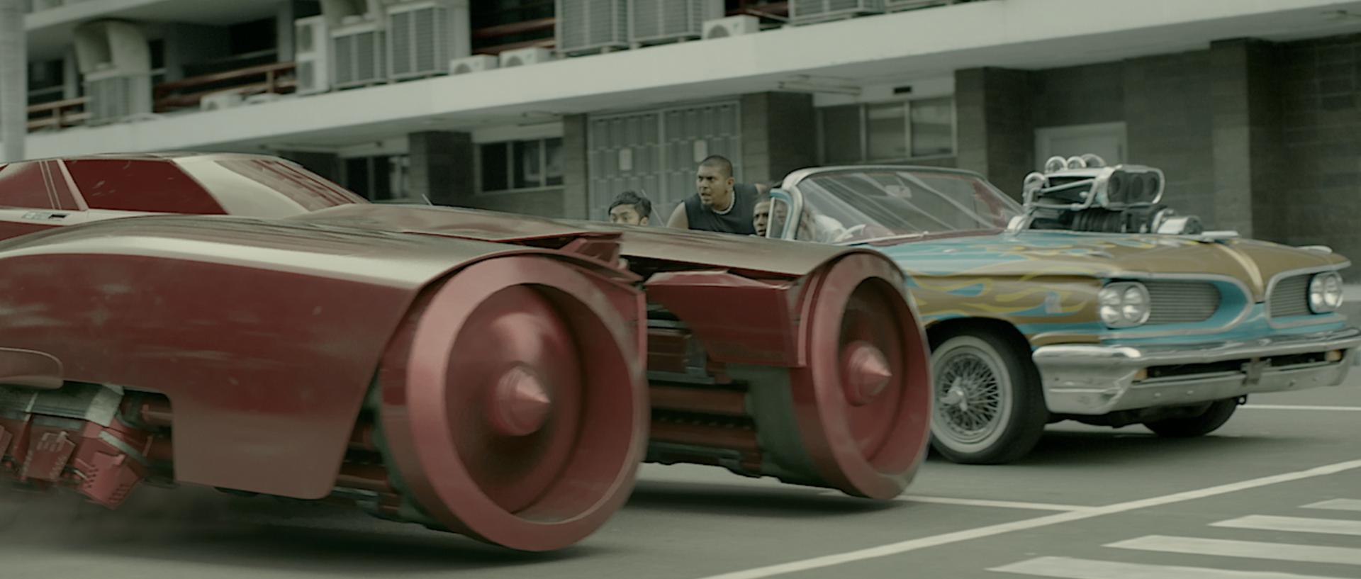 Red O - Car