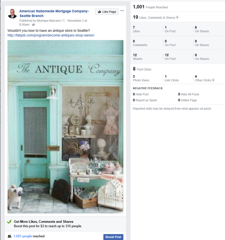 antique store 1001 reach 7 likes and 8 post clicks organic.PNG