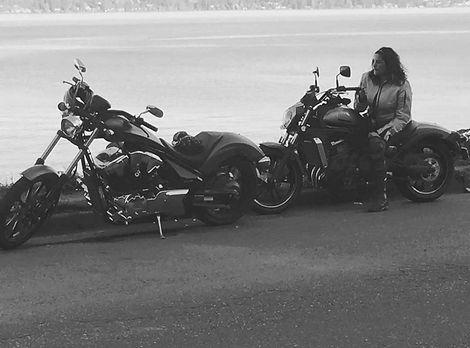 Black and white selfie on motor 2017.jpg