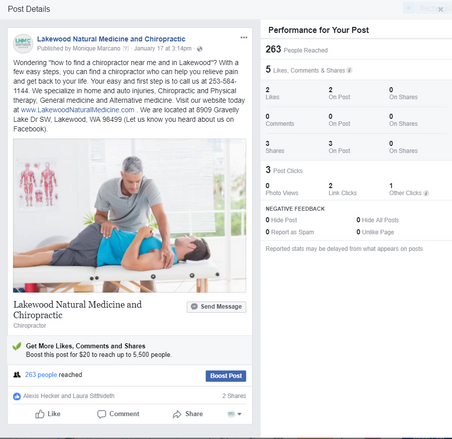 Dr. Young Facebook Paid Ad