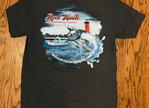 Reel Nauti Charters T-Shirt