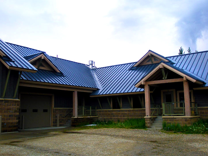 Roofing Metal Standing Seam Winterpark