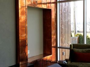 Interior Copper Cladding