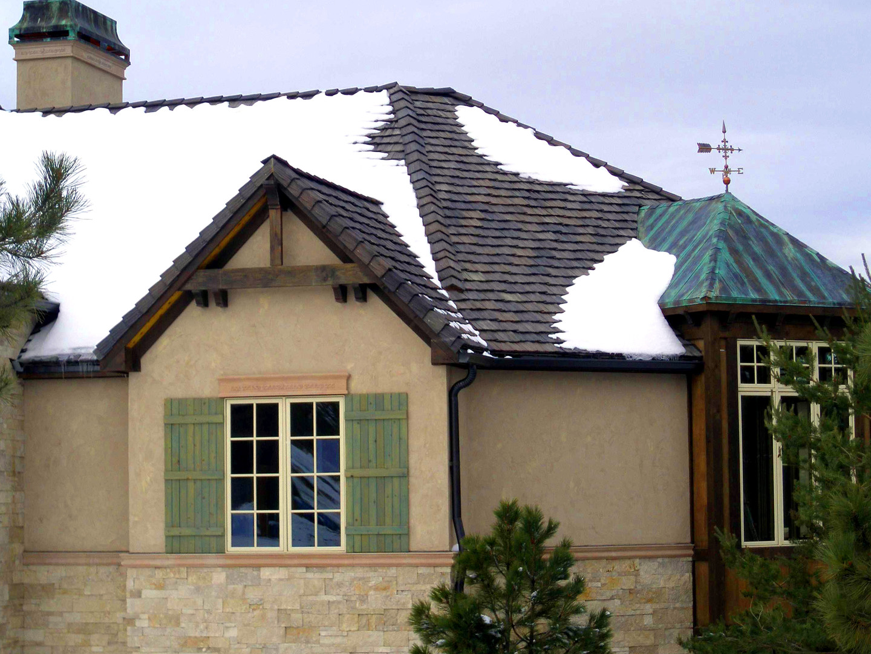 Roofing Metal Copper Petina Half Turret