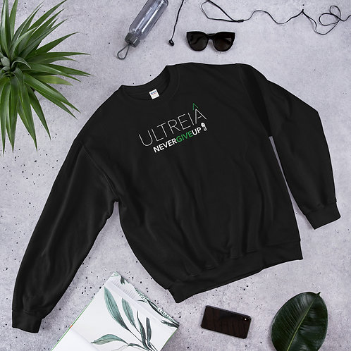 ULTREIA - NEVER GIVE UP - Unisex Sweatshirt (Green logo)
