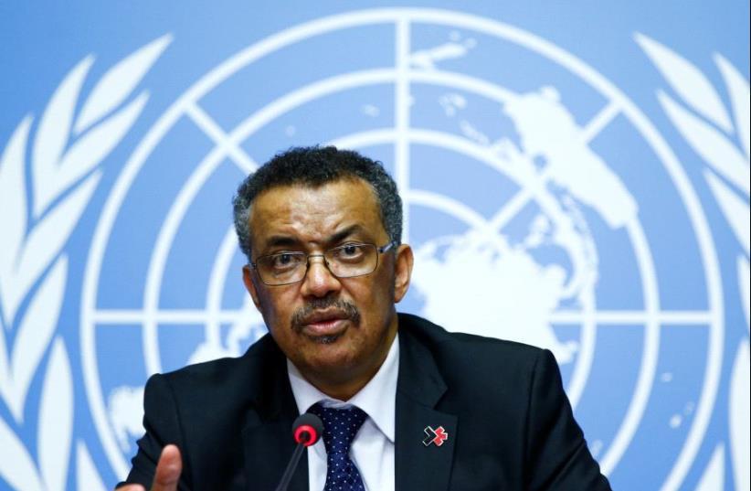 Tedros Adhanom Ghebreyesus (Asmara, 1965) is een Ethiopisch politicus en sinds 2017 de achtste directeur-generaal van de Wereldgezondheidsorganisatie (WHO).