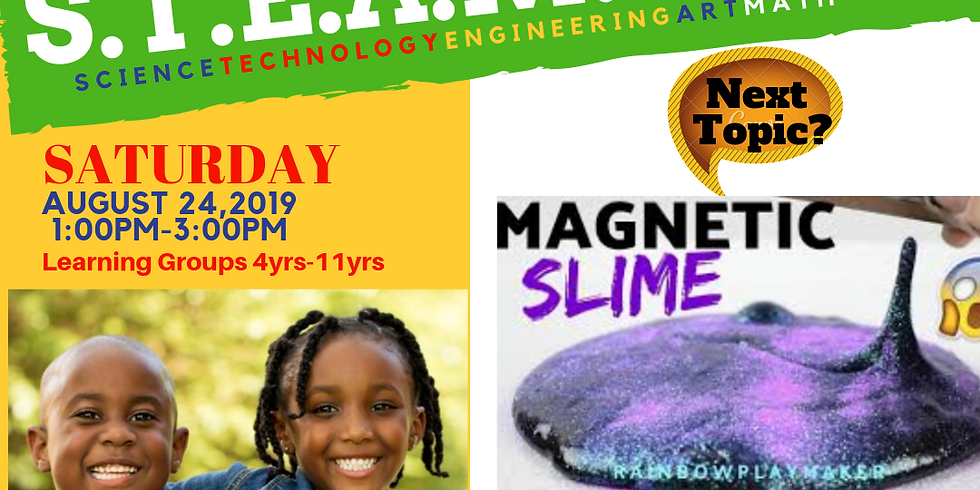 """SILE S.T.EA.M. DAY!  """"MAGNETIC SLIME"""""""