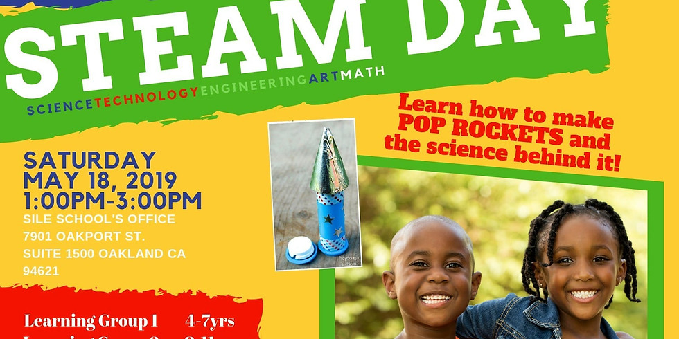S.T.EA.M. DAY For Kids!