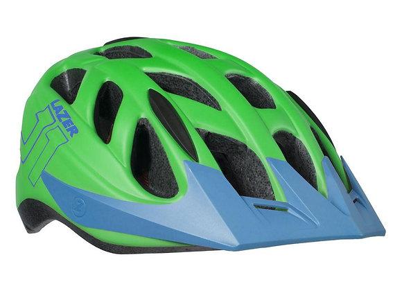 Lazer J1 Youth Helmet Matte Green Blue