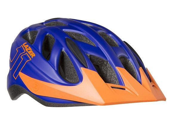 Lazer J1 Youth Helmet Matte Blue Orange