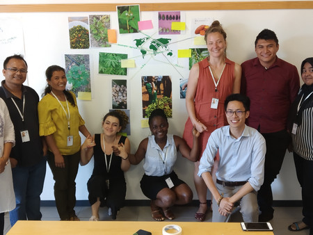 Day 5 in Rome: The Fellows learnt about the promotion of neglected & underutilised species