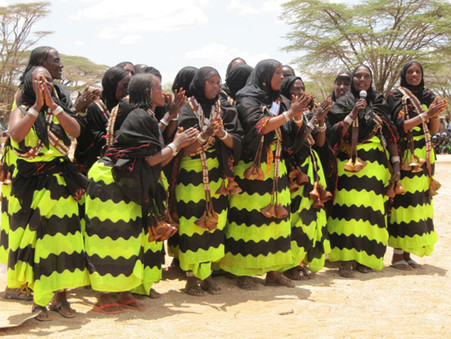 Cultural Food and Music Festival in Kalacha (Kenya)