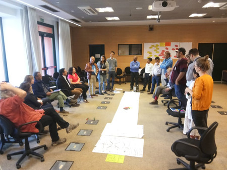 TIP Indigenous Youth Fellowships Review's Retreat Workshop, 26th September 2018, Rome