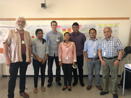 The Fellows formulated community-specific work plans based on the VIPP methodology