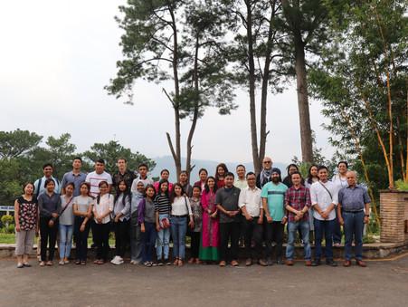 TIP Fellows 2019 exchange ideas during a three-day work retreat at Meghalaya