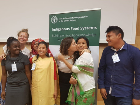 Gen-Y of matriarchal societies to shape and revitalise their Indigenous Food Systems