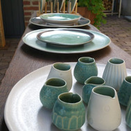 """Foods & Plants   Sfeer impressie in   Servies - Potten - Vazen     """"Every day on every table"""""""