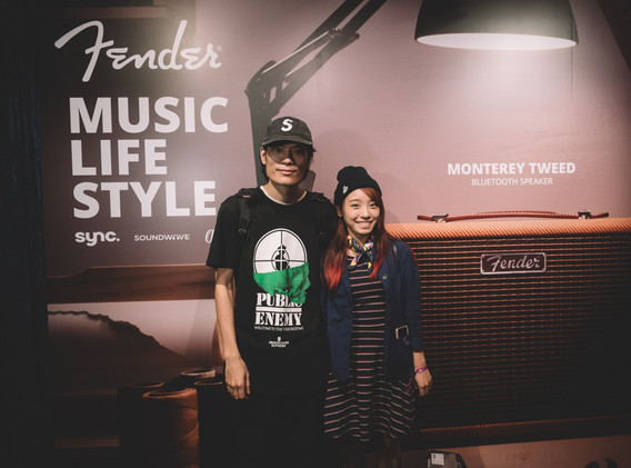 Fender Music Life Style_ARHOSUNNY_CREAMY