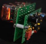 Double PCB nixie clock