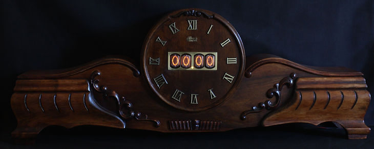 Hermle mantle clock conversion