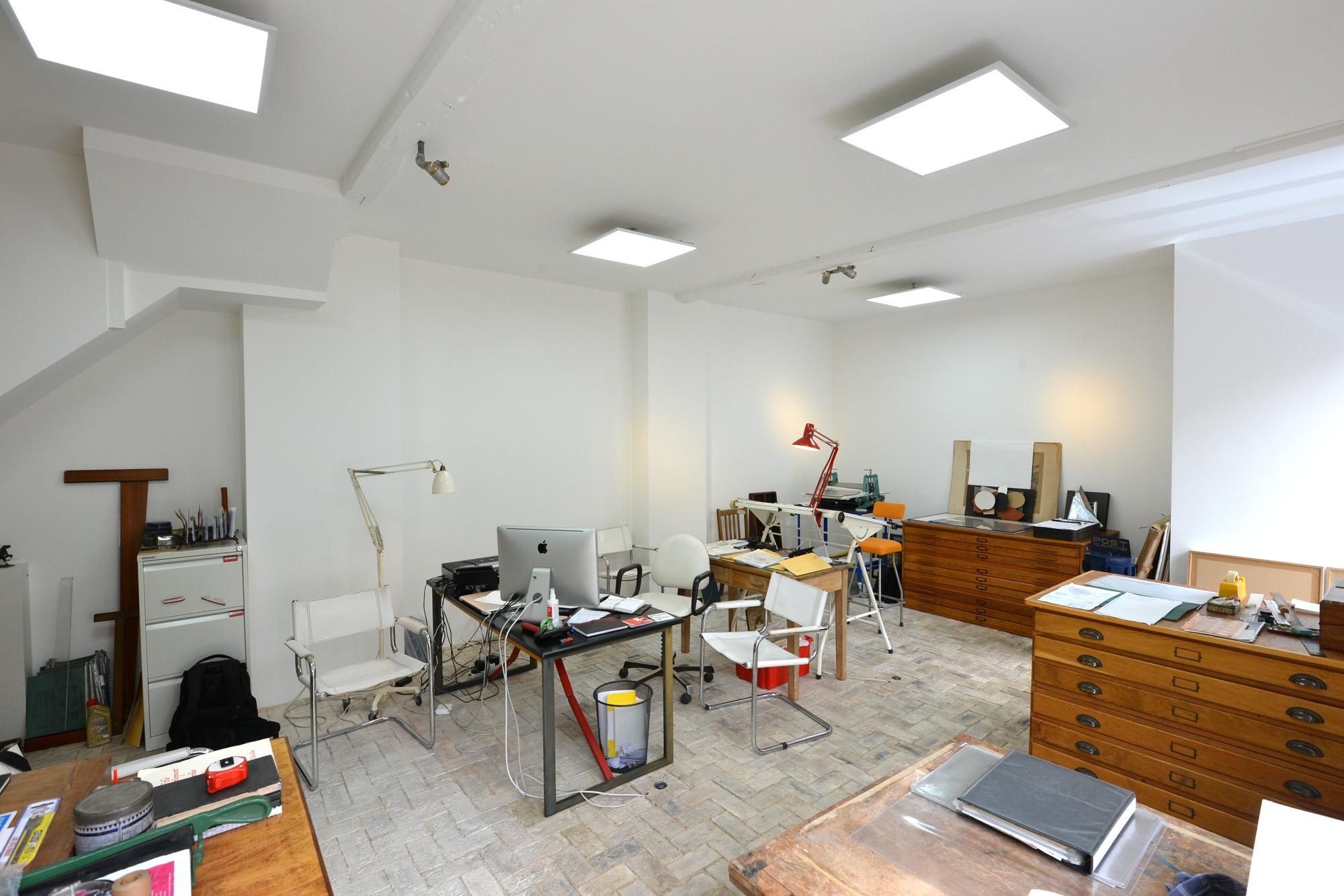 Artist's studio, Lewes