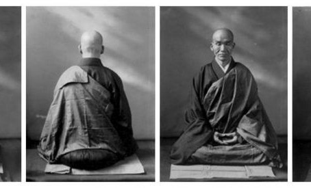 La postura de meditación