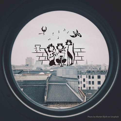 4007. Cats on the Roof