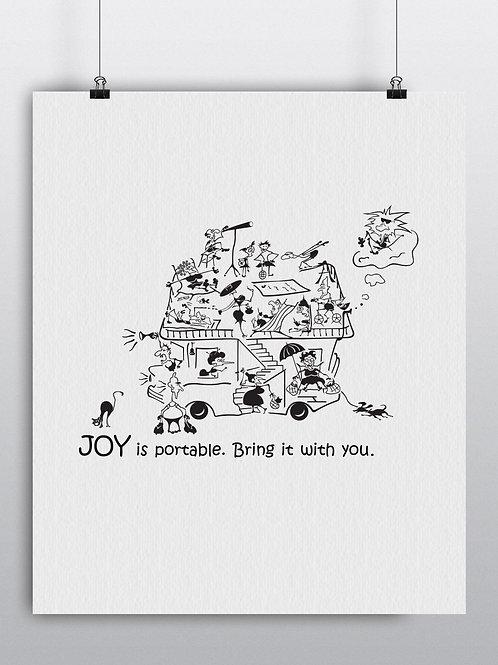 12006. Joy is portable