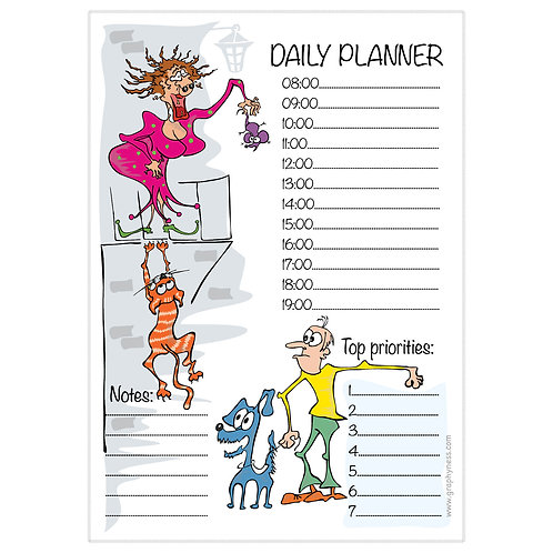 5003. Printable Daily Planner