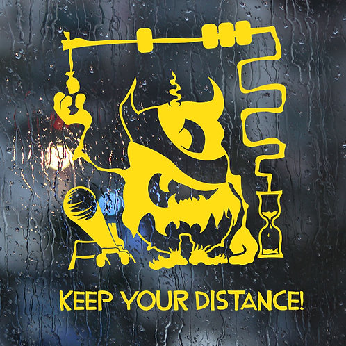 4202. Keep Your Distance