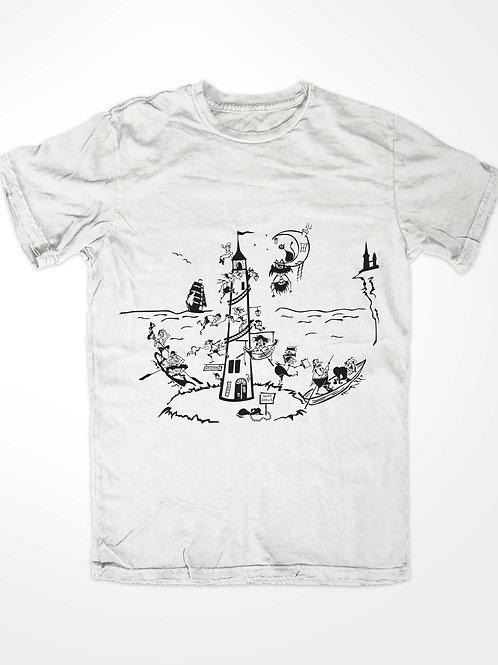 3010. A Night Lighthouse