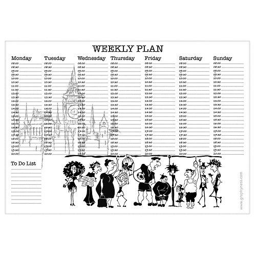 5007. Printable Weekly Plan