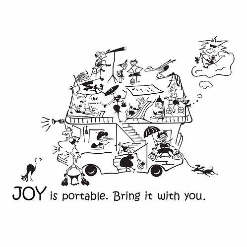 2006. Joy is portable