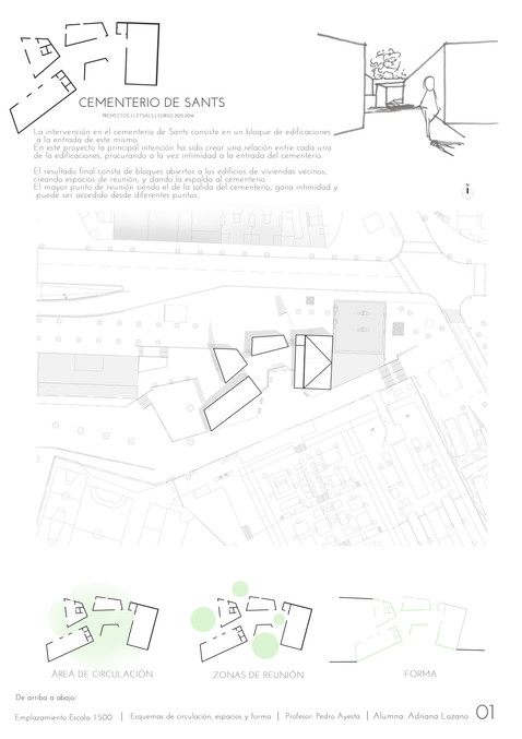 Project for Sants Cemetery, 2016