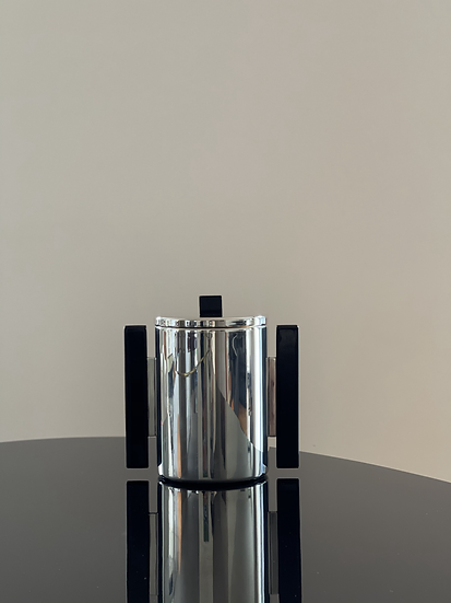 Silver-plated Modernist Ice Bucket