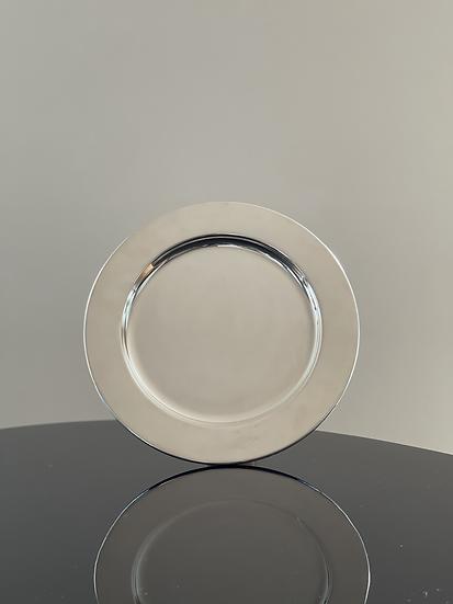 Giuliano Malimpensa Round Silver Tray