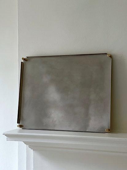 Ettore Sottsass Silver Tray