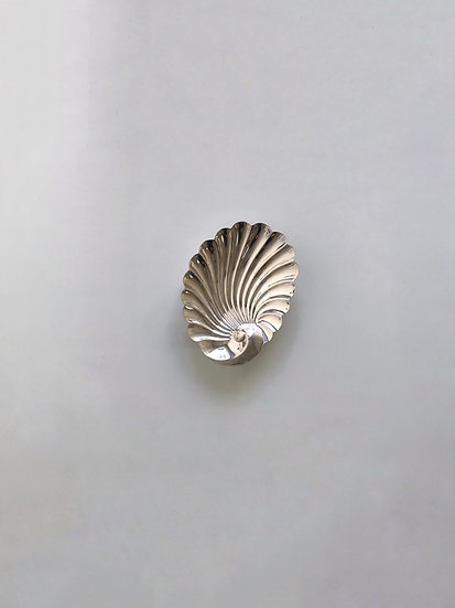 Silver Shell Ashtray