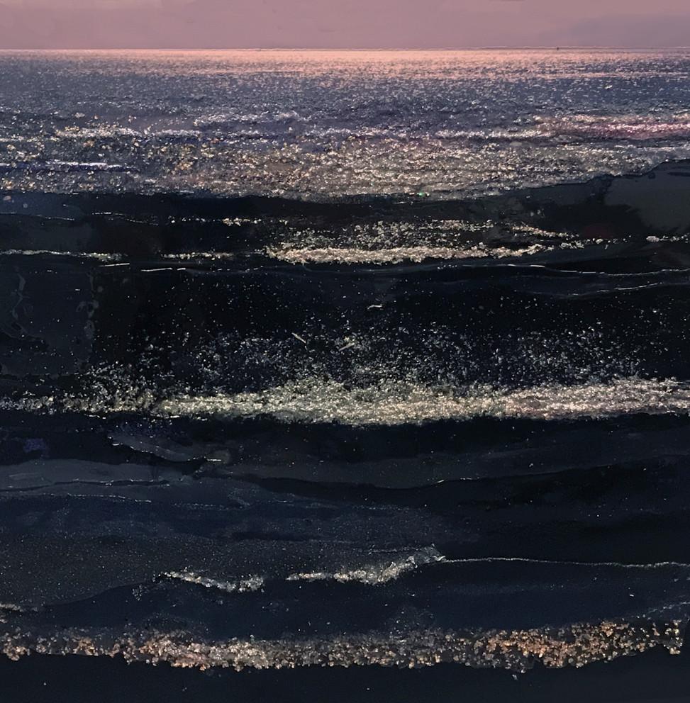 Blue sea, 120/150 cm