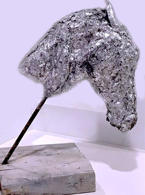 Cheval métal bois bednarek