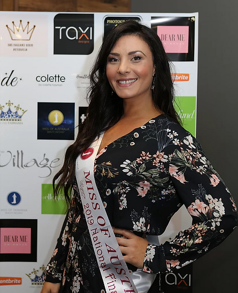 Dimples Earrings Official Sponsor of Miss of Australia Pageant