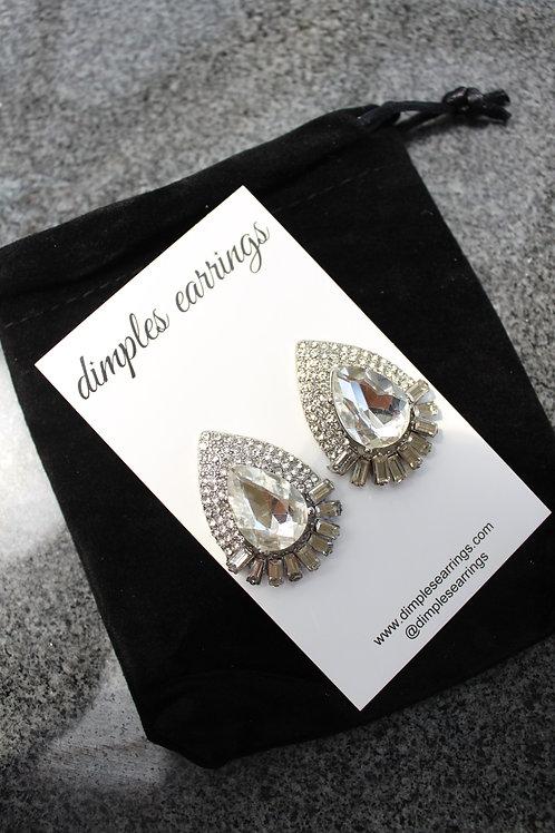 Clear Interview Earrings