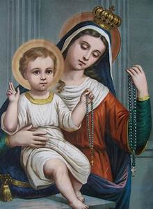 7 October: Our Lady of the Rosary
