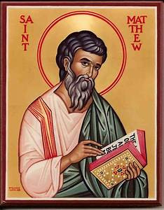 21 September: St Matthew