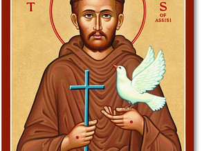 4 October: St Francis of Assisi