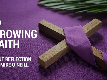 Reflection for Lent Week 1 Thursday with Dc Mike