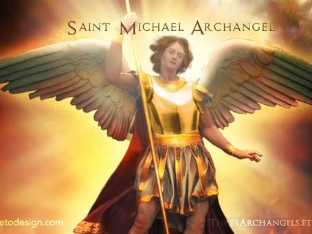 29 September: Ss Michael, Gabriel & Raphael; Archangels