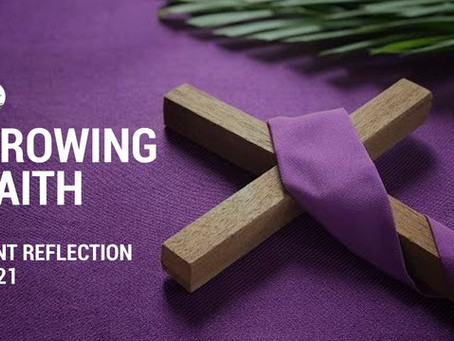 Friday Week 1 of Lent Reflection with Fr James Ralston O.M.I.