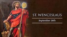 28 September: St Wenceslaus