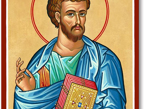 18 October: St Luke